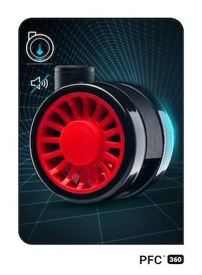 Fotel gamingowy Diablo X-One 2.0 King Size: Czarno-czerwony