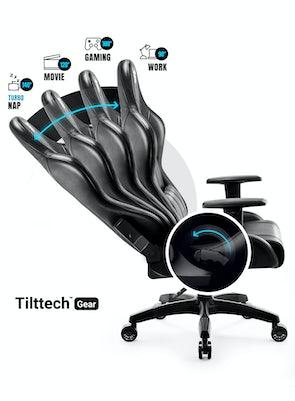 Gaming Chair Diablo X-One 2.0 King Size: black-black