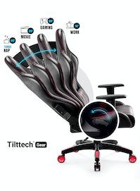 Herní židle Diablo X-One 2.0 Normal Size: černo-červená Diablochairs