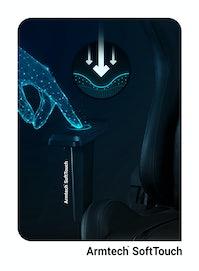 Fotel gamingowy Diablo X-One 2.0 Normal Size: Czarno-czarny