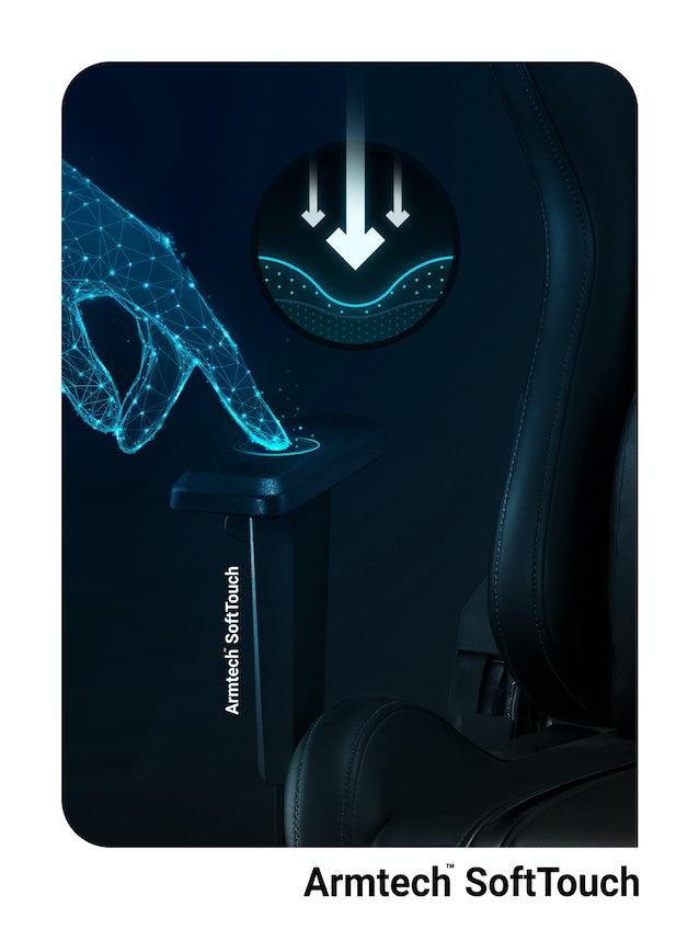 SCAUN DE GAMING NOUA GENERATIE X-ONE 2.0 NORMAL SIZE: NEGRU Diablochairs