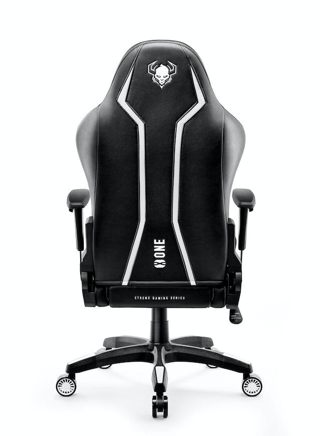 Gaming Stuhl Diablo X-One 2.0 Normal Size: Schwarz-Weiß