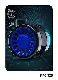 Gaming Stuhl Diablo X-One 2.0 Normal Size: Schwarz-Blau
