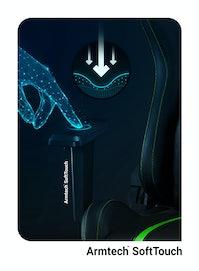 Herné kreslo Diablo X-One 2.0 Normal Size: čierno-zelené Diablochairs