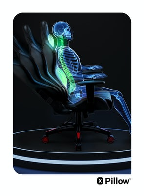 Gaming Chair Diablo X-One 2.0 King Size: black-red