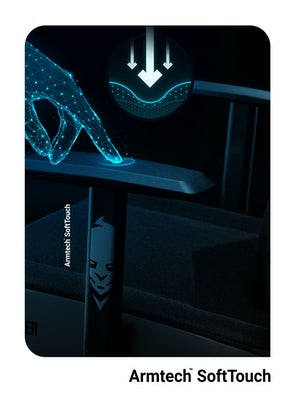 Herní židle Diablo X-Gamer 2.0 Normal Size: čierná Diablochairs