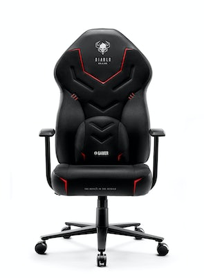 Fotel gamingowy Diablo X-Gamer 2.0 Normal Size: Dark obsidian