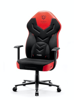Fotel gamingowy Diablo X-Gamer 2.0 Normal Size: Deep red
