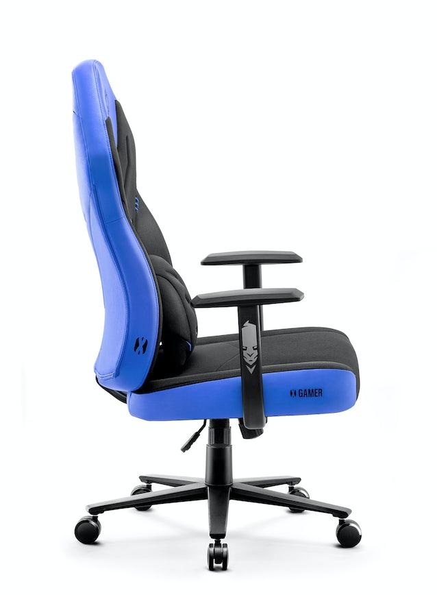 Herné kreslo Diablo X-Gamer 2.0 Normal Size čierno-modré Diablochairs