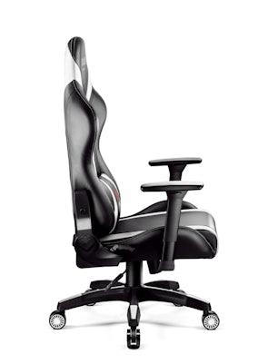 Herní židle Diablo X-Horn 2.0 Normal size: Černo-bílá Diablochairs