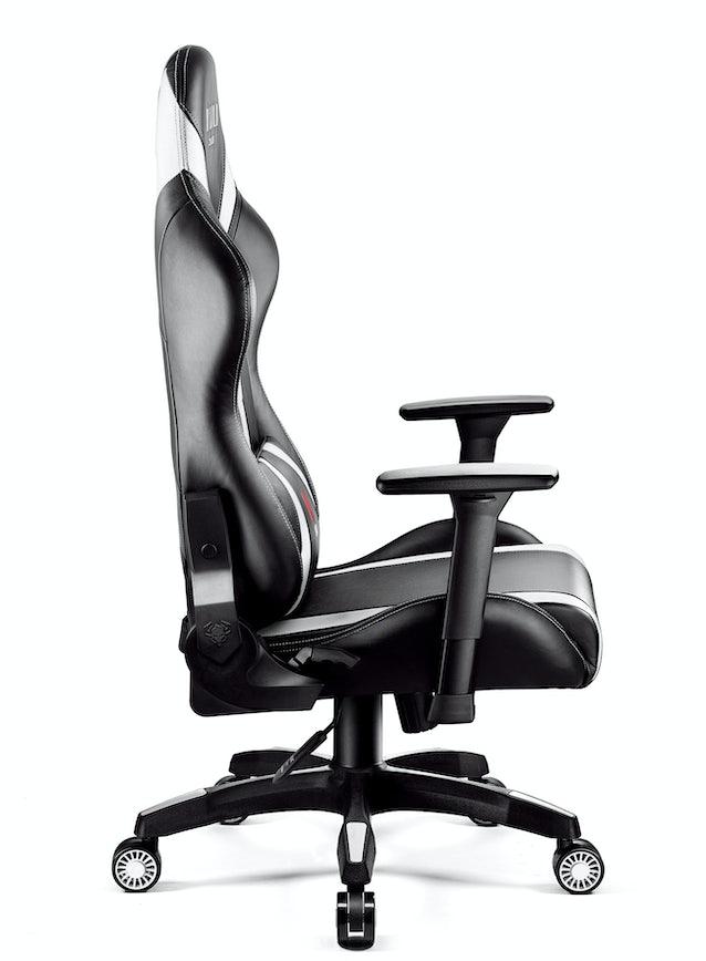 Diablo X-Horn 2.0 gamer szék King Size: Fekete-fehér Diablochairs