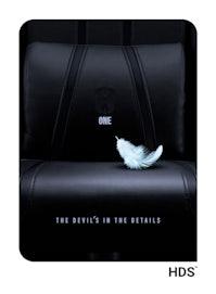 Fotel gamingowy Diablo X-One 2.0 King Size: Czarno-czarny