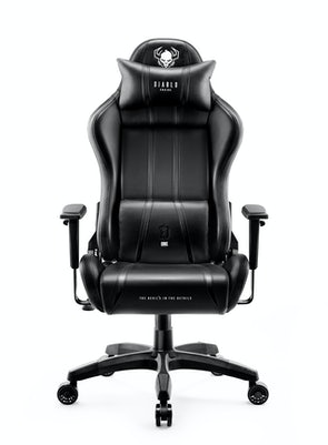 Gaming Stuhl Diablo X-One 2.0 Normal Size: Schwarz-Schwarz