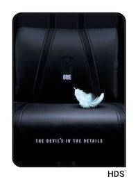 Fotel dziecięcy Diablo X-One 2.0 Kids Size: Czarno-czarny