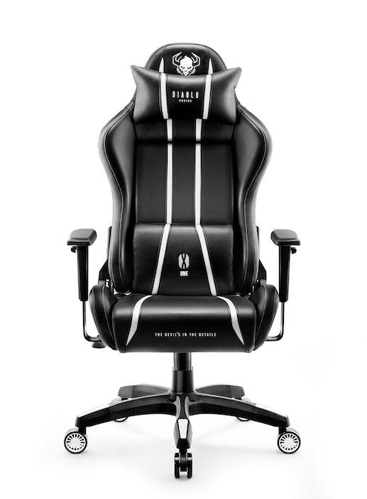 Herní židle Diablo X-One 2.0 Normal Size: černo-bílý Diablochairs