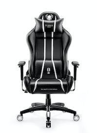 Herné kreslo Diablo X-One 2.0 Normal Size: čierno-biele Diablochairs