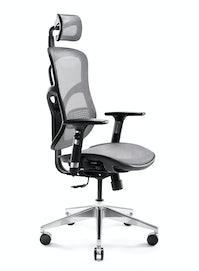 Ergonomická židle DIABLO V-BASIC: černo-šedá Diablochairs
