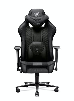Gaming Stuhl Diablo X-Player 2.0 Stoffbezug Normal Size: Schwarz