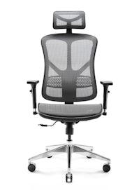 Kancelárska ergonomická stolička DIABLO V-BASIC: čierno-šedá Diablochairs