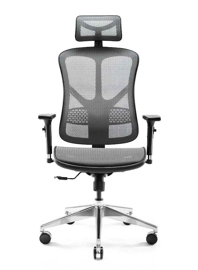 DIABLO V-BASIC ergonomikus irodai szék: fekete-szürke Diablochairs