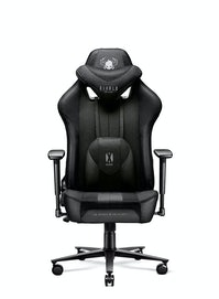 Fotel dziecięcy Diablo X-Player 2.0 materiałowy Kids Size: Czarno-czarny