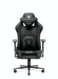 Dětská látková herní židle Diablo X-Player 2.0 Kids Size: černá Diablochairs
