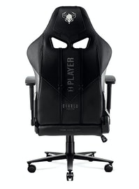 Fotel gamingowy Diablo X-Player 2.0 materiałowy King Size: Czarno-czarny