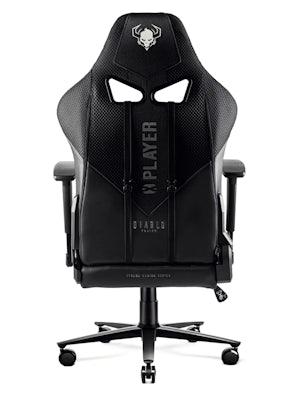 Gaming Stuhl Diablo X-Player 2.0 Stoffbezug King Size: Schwarz