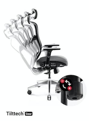 Scaun ergonomic DIABLO V-BASIC: negru Diablochairs