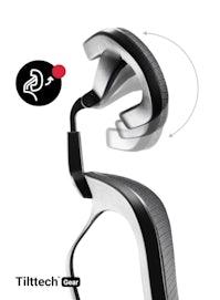 Fotel ergonomiczny DIABLO V-BASIC: czarny