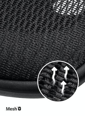 Ergonomická židle DIABLO V-BASIC: černá Diablochairs