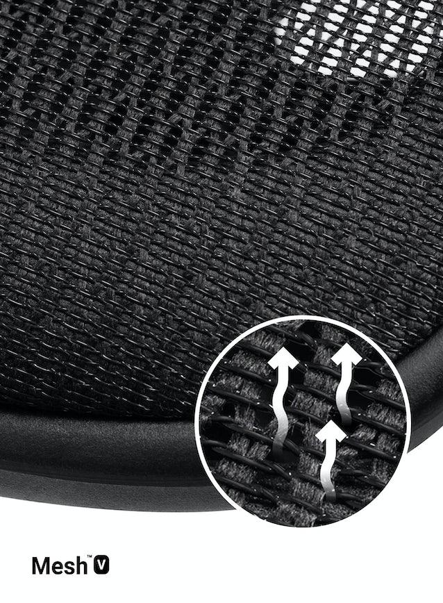 Kancelárska ergonomická stolička DIABLO V-BASIC: čierna Diablochairs