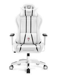 Fotel gamingowy Diablo X-One 2.0 King Size: Biało-czarny