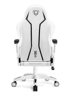 Herné kreslo Diablo X-One 2.0 King Size: bielo-čierne Diablochairs