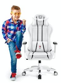 Kinder Schreibtischstuhl Diablo X-One Kids Size: Weiß