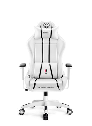 Dětská herní židle Diablo X-One 2.0 Kids Size: bílo-černá Diablochairs