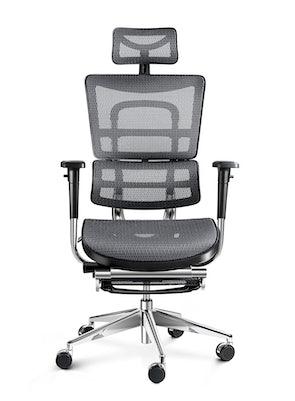 Ergonomischer Bürostuhl DIABLO V-MASTER: Schwarz-Grau
