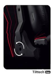 Gaming Stuhl Diablo X-Player 2.0 Stoffbezug Normal Size: Schwarz