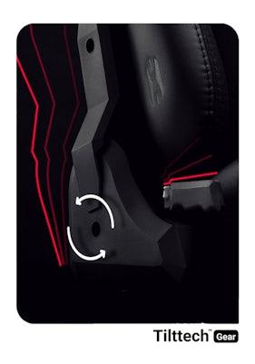 Látkové herné kreslo Diablo X-Player 2.0 King Size: čierne Diablochairs