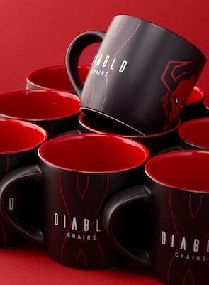 Becher Diablo Chairs Schwarz-Rot