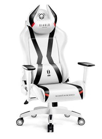 Diablo X-Horn 2.0 gamer szék King Size: Fehér-fekete Diablochairs