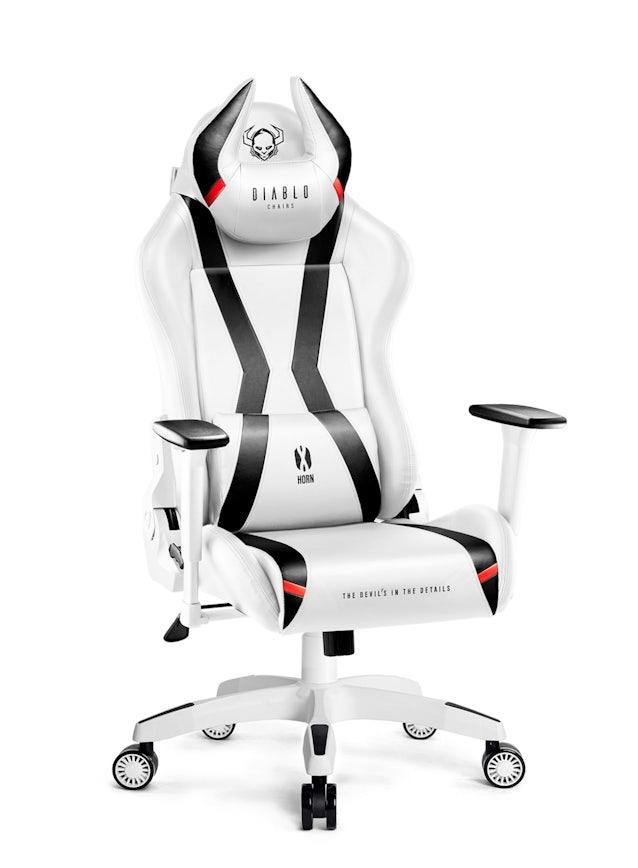 Diablo X-Horn 2.0 gamer szék Normal Size: Fehér-fekete Diablochairs