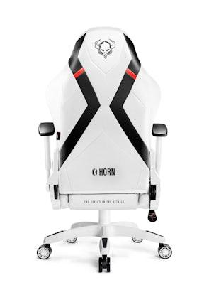 Herné kreslo Diablo X-Horn 2.0 Normal Size: Bielo-čierne Diablochairs