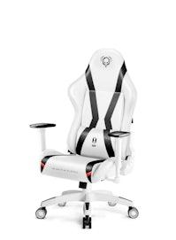 Dětská otočná židle Diablo X-Horn 2.0 Kids size: bílo-černá Diablochairs