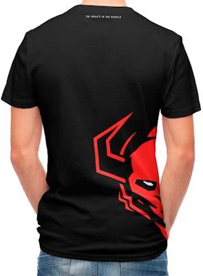Tričko Diablo Chairs: černé Diablochairs