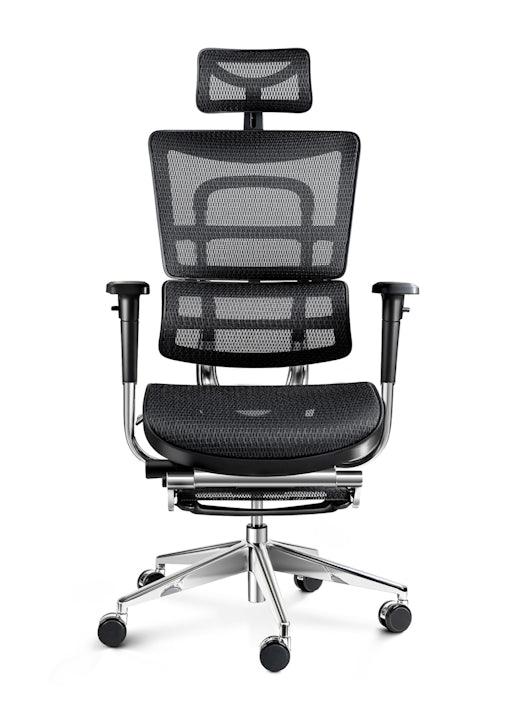 Ergonomischer Stuhl DIABLO V-MASTER: schwarz
