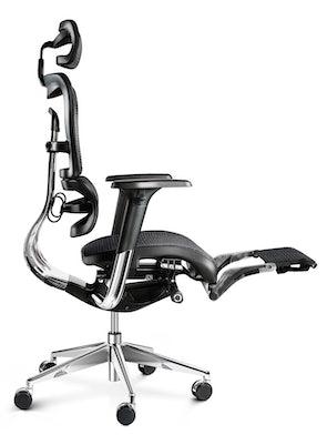 Kancelárska ergonomická stolička DIABLO V-MASTER: čierna Diablochairs