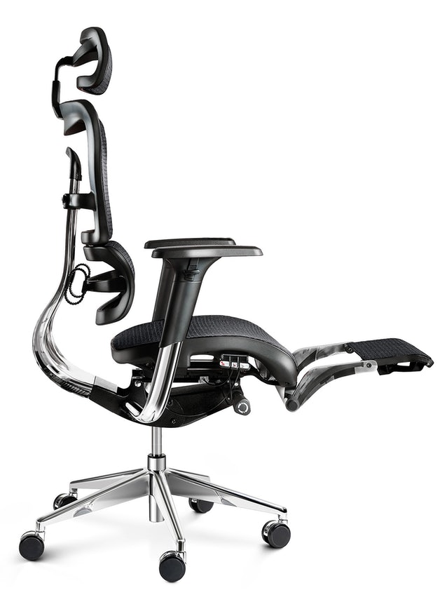 Scaun ergonomic  DIABLO V-MASTER: negru Diablochairs