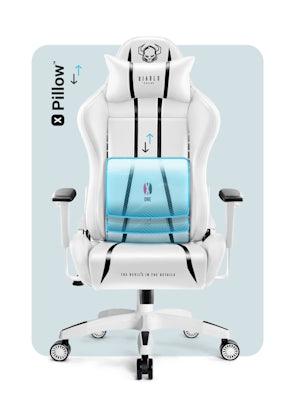 Fotel dziecięcy Diablo X-One 2.0 Kids Size: Biało-czarny
