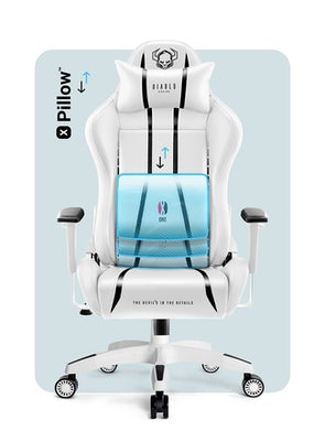 Gaming Chair Diablo X-One 2.0 Normal Size: white-black